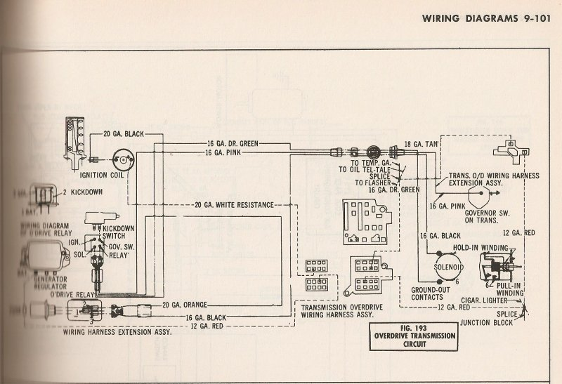 1961 chevy wiring diagram 1961 gmc wiring diagram #10