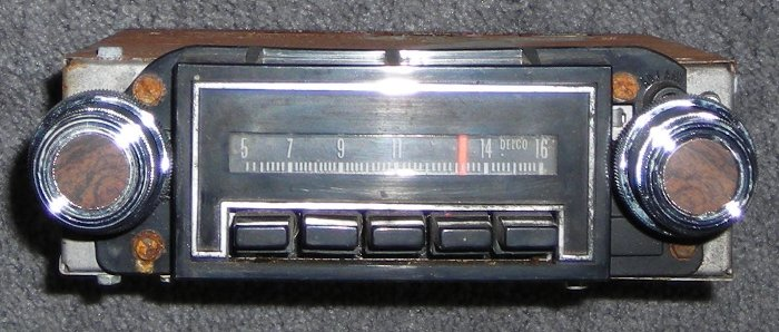 example: #31bpb1 pushbutton am mono radio used in 1973 chevy full-size cars