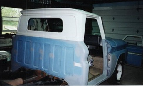 Restoration Photos Of Dad S 1966 Chevy C10 Page 2 Of 5
