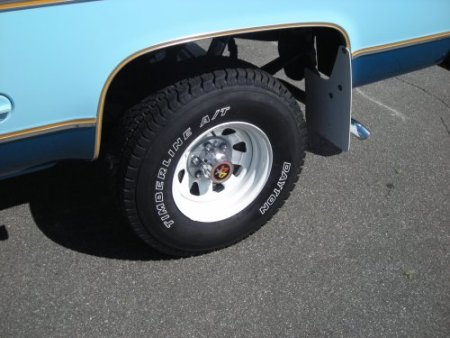 31x10 50r15 Tires >> Photos and History of Tom's 1977 GMC K15 (page 5 of 5)