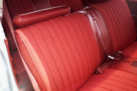Newly upholstered seat - passenger side
